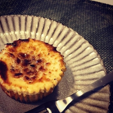 キャラウェイシードのキャラメリゼチーズケーキ