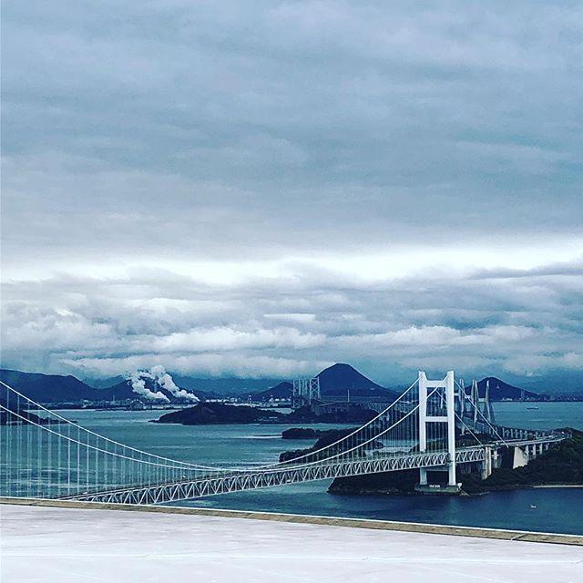 絵じゃないよ。#瀬戸大橋 #岡山 (Instagram)