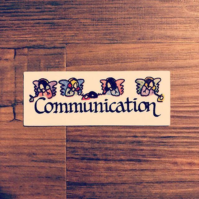 今日のエンジェルカードは、Communication(コミュニケーション)思い当たる節、アリアリ〜 #エンジェルカード #communication #永遠のテーマ (Instagram)