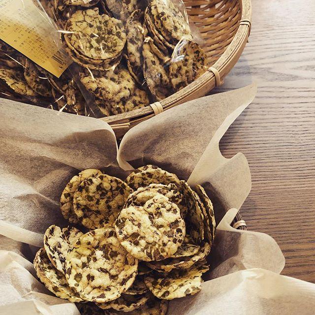 ムング豆チップス入荷しました。ポリポリ、、、美味しいです。#ムング豆 #チップス #材料シンプル #上尾 #ハーブショップ #葉の園 (Instagram)