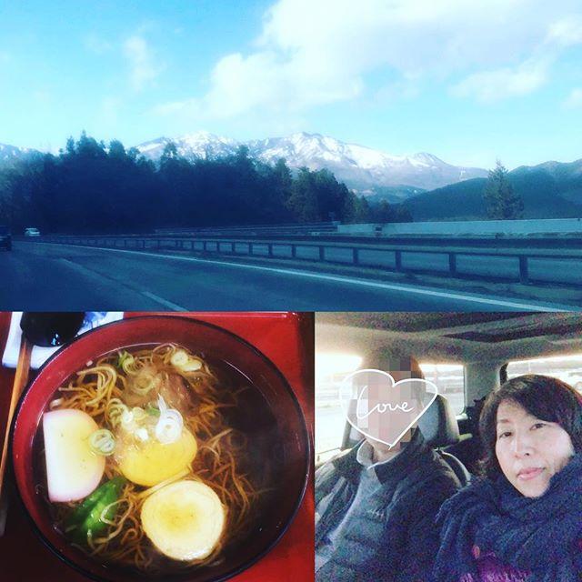 日光まで行って温泉に浸かってきた。穏やかな天気のなか、ドライブして湯葉そば食べたよ疲れがやっととれた感じ。明日から仕事モードに切り替えなくちゃね。また頑張ります。#お正月休み #ドライブ #日光 #湯葉そば #温泉 #旦那さん大好き (Instagram)