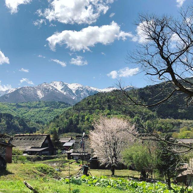 白川郷に行ってきた。#世界遺産 #白川郷 #お天気 #gw (Instagram)