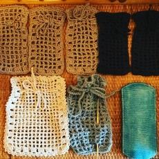 お義母さんと編み物