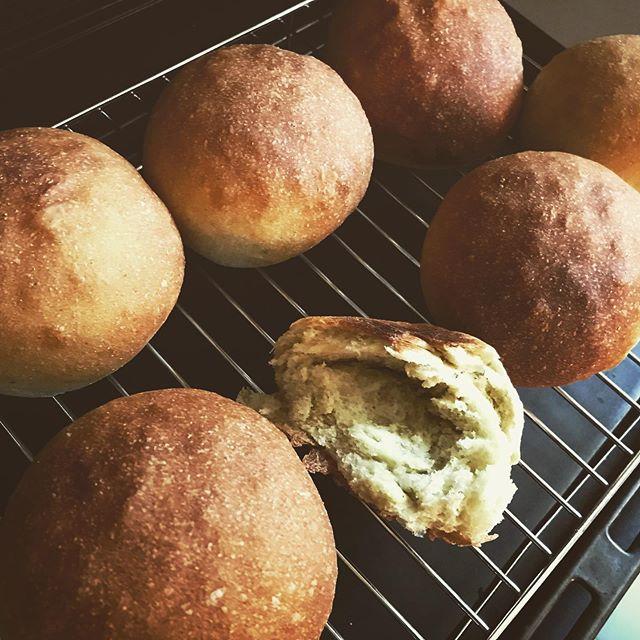 今週はケール入り全粒粉パンを焼きました。ちょっと薄いですがほんのり緑色、分かりますか?食物繊維やカルシウム、ビタミンといった栄養に富みビタミンの含有量は緑黄色野菜の中でも多いんだそうです。(by Wiki)プレートランチでプレーンかケールかをお選びいただけます。限定ですのでお早めに。(近々また焼きますよ。) #ケールパン #プレートランチ #自家製パン #全粒粉パン #ケール #スーパーフード #上尾カフェ #ハーブ専門店 (Instagram)