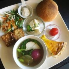 16種の野菜プレート